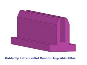cableclip /strain relief X-motor 4MAX