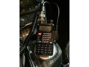 Baofeng UV-5R, Yaesu Remote Head Radio Car Cup Holder Mount