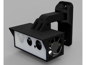 Raspberry Pi Zero W Security Camera using NoIR Camera.