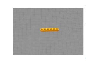 Lego tehniс half beam 6