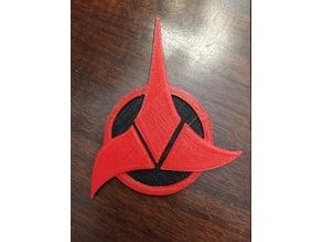 Klingon Badge