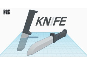 [1DAY_1CAD] KNIFE
