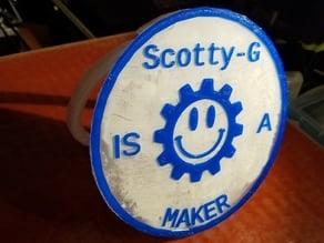 Desk Coin - Scotty-G Maker