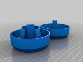 Vent covers for Zen Float Tent (v2)