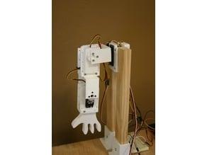 Servo Bracket Shell for Robot Joint