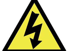 Power sign triangle