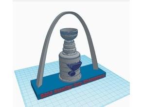 St. Louis Blues Stanley Cup Display