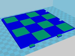 Dual Extuder chessboard