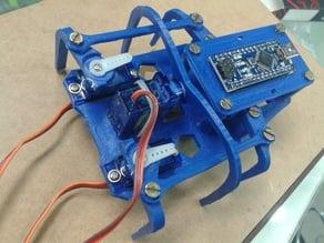 spider robot 6 pie 3 servo
