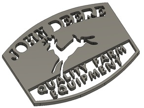 Quality Farm Equipment by John Deere badge