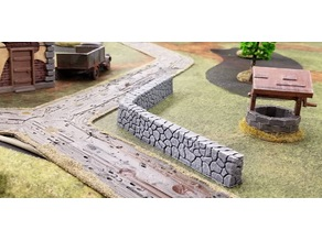 stone fence system - 28mm gaming