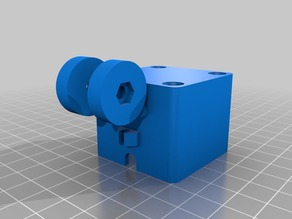 X-axis mount for universal Cam mount for Creality