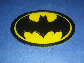 89' Batman Logo - Dual Extrusion