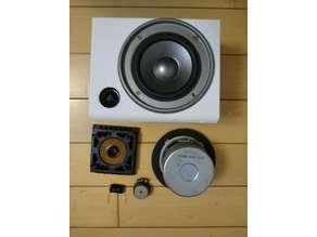 Sky speaker for 7.2 AV wall or cell install