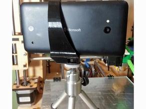 Lumia 640 tripod mount