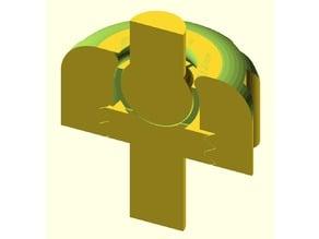 ball clamp basic design for multiple usage