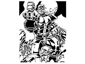 Thanos Stencil 2