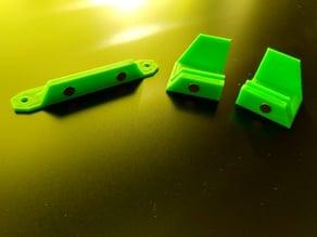 Modified Door Knob (Original Prusa i3 MK3 ENCLOSURE) for 6mm x 3mm round magnets