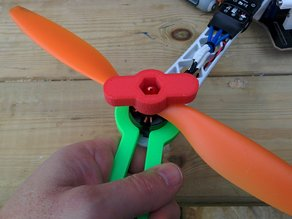 Quadcopter 28mm motor wrench