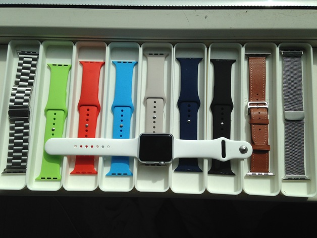 Stackable Apple Watch Band Storage Box By Gvanderwindt