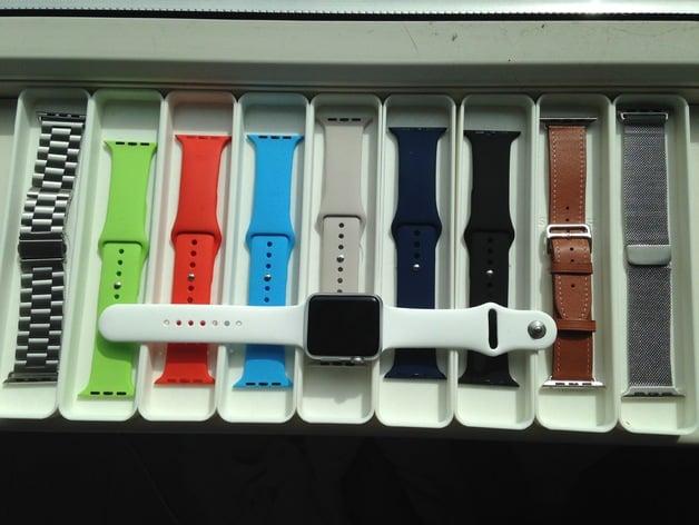 Stackable Apple Watch Band Storage Box By Gvanderwindt