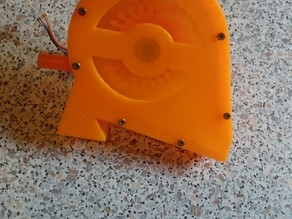 Cellphone Charging Pelton Turbine