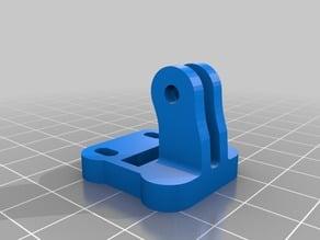 Adjustable extended cooling blower fan mount (Prusa i3 Rework)