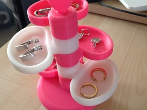 earring stand 5 level
