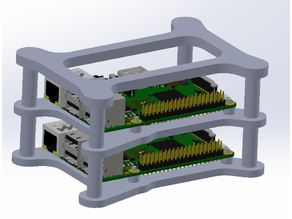 Raspberry Pi 2/3 Cluster Case