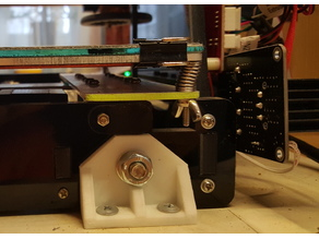Anet A6. Corner for fixing the frame №1