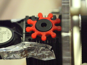 Laser focus adjustment wheel