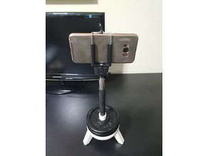 Selfie stick - Monopod Support Platform (for a 18mm diameter stick)
