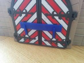 Playmobil castle gate lock