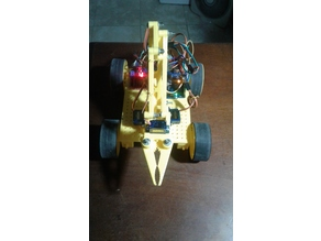 Robot 4x4 Car with Arm Arduino Controlled