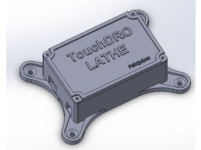 TouchDRO Enclosure for Arduino UNO LATHE