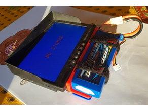 FPV Display LiPo battery holder