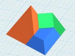 Tetrahedron, Triangular Pyramid Puzzle
