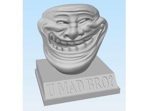 Trollface Bust