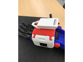 Ankle Clamp Binding Adapter - Prosthetic Hand
