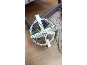 Variometer coil former