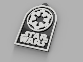 Star Wars Empire Badge/Keychain/Necklace
