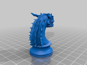 Chess Dragon Knight