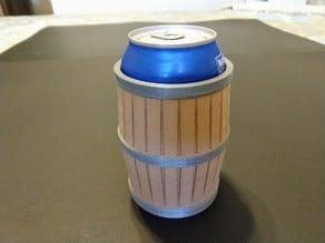 Soda Can Barrel Sleeve / Dice Cup