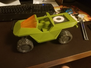 Halo Warthog Wireless Charger Case