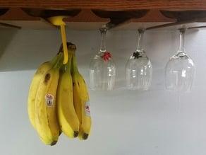 Banana Hanger For Wine Glass / Stemware Rack