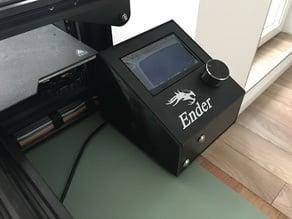 Ender 3 LCD Cover Orange Pi Lite Station