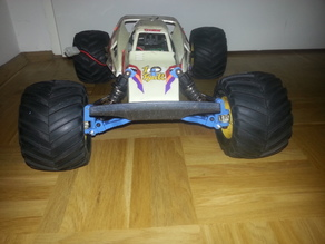 Tamiya Mad Bull DT-01 independent front suspension upgrade