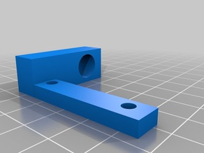Tube Fit Adapter for Compact Bowden Extruder