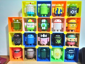 Android figure holder