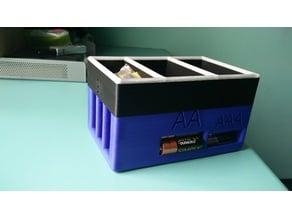 Battery Holder Organiser Dispenser